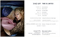 22.8.2013 - Time is Limited, curating: Iris Hassid Segal, Eran Gilat