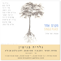 11.8.2011 - Single Place, curating Tamar Eloul